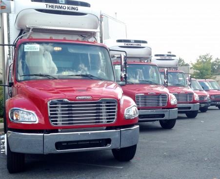 USA Produce Trucks